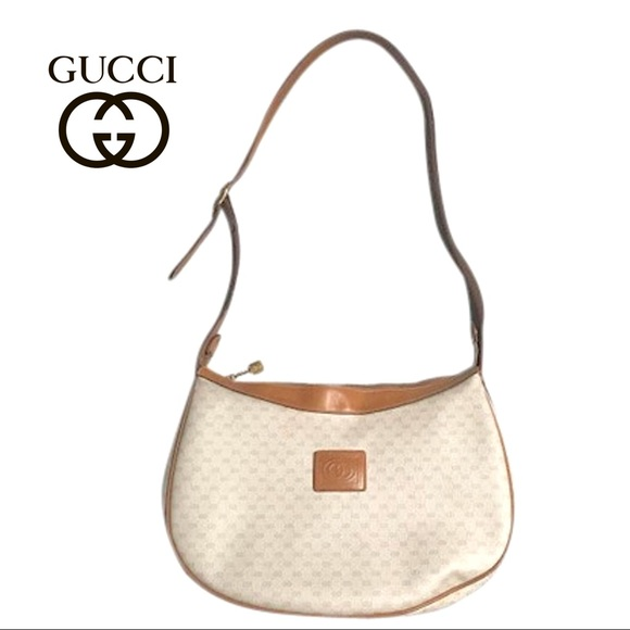 37d8404143b3 Gucci Bags | Gg Vintage Monogram Signature Shoulder Bag | Poshmark